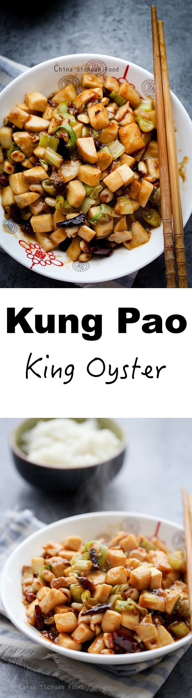 Kung Pao King Oyster mushroom