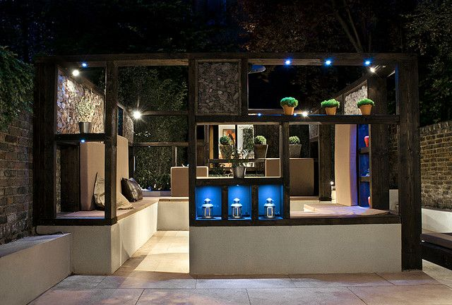 'Cube Play' by Earth Designs A modern contemporary minimalist garden in Maida Vale, Queens Park London W2 | von Earth Designs - Garden Design and Build
