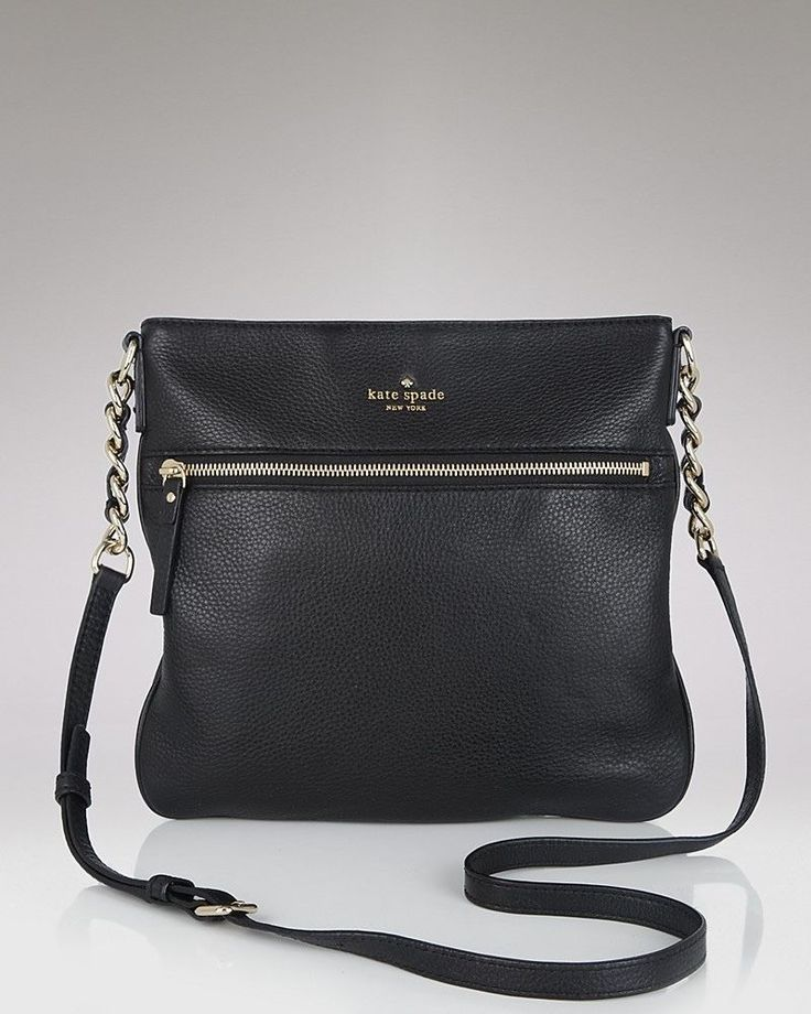 $299.99 NEW Kate Spade New York Cobble Hill Ellen Cross-Body Handbag Black One Size #KateSpadeNewYork #NA