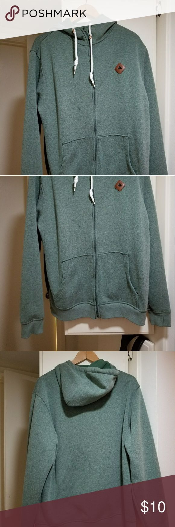 Burton jacket Men's XL dry ride Burton jacket. Faded green color . In good condition only sign of use is small blemish on front which is why I'm selling it for so cheap. I used flash so it's noticible, not as noticible without flash. Burton Jackets & Coats