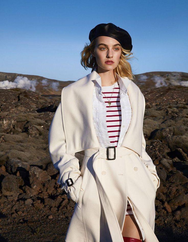 Photography: Camilla Akrans.Styled by: Tom Van Dorpe. Hair: Franco Gobbi. Makeup: Lotten Holmqvist. Model: Maartje Verhoef.