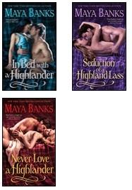 McCabe Series by Maya Banks - Historical Highland Romance