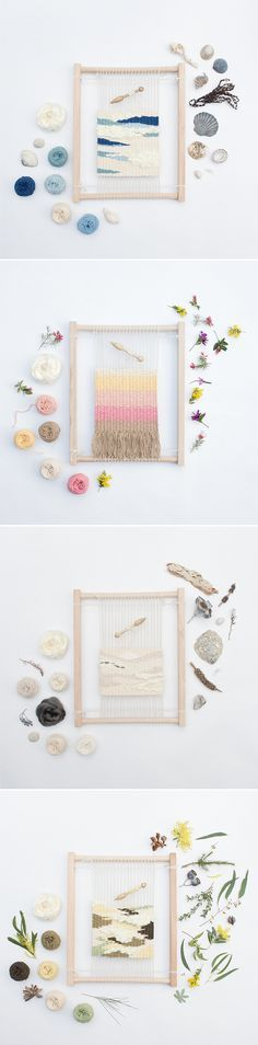 Eco Weaving Kit for beginners by Alchemy. http://thealchemystore.bigcartel.com