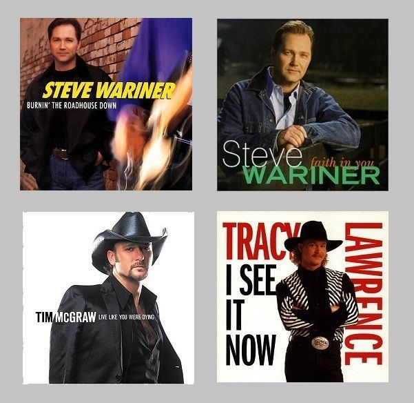 Lot of 4 CDs Tracy Lawrence Steve Wariner Tim McGraw I See it Now Faith in You  #ContemporaryCountry