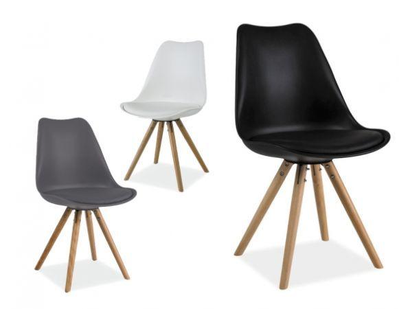 Krzesło Eric to wyjątkowy mebel wykonany w stylu skandynawskim.