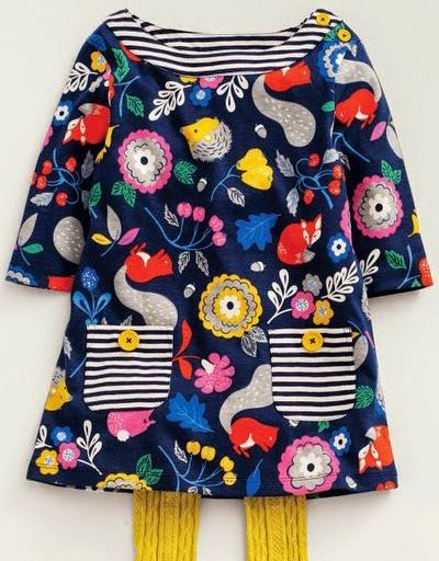 print & pattern: KIDS DESIGN - boden AW14