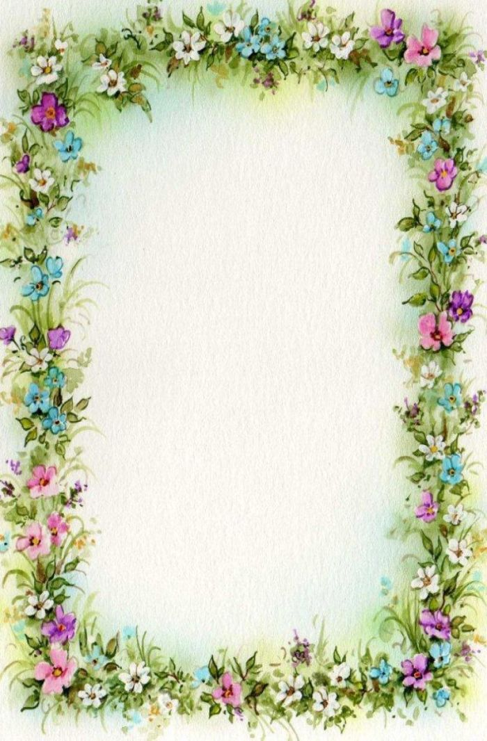 Delicate image pertaining to free printable picture frames and borders