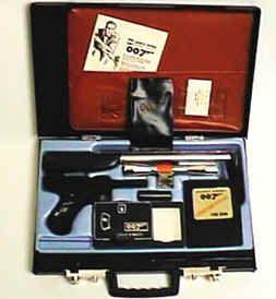 James Bond attache spy case