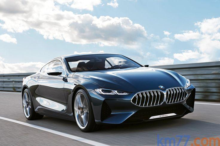 Fotos Exteriores - BMW Serie 8 Concept - km77.com