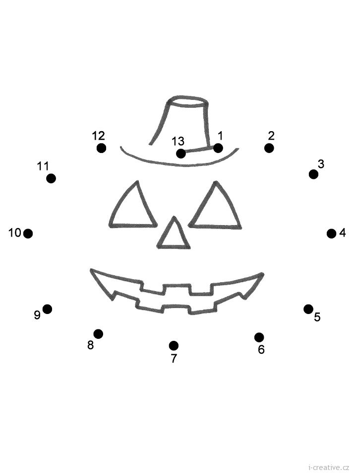 Halloween | Page 2 of 4 | i-creative.cz - Kreativní online magazín a omalovánky k vytisknutí