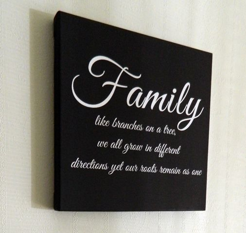 Family Print on canvas! For more great prints check out - https://www.facebook.com/offthebusdesigns