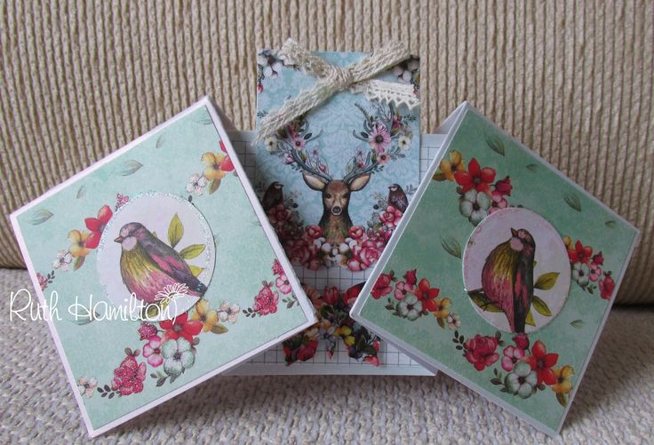 A Passion For Cards: Bohemian papers and embellishments from Trimcraft