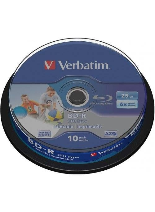 #BluRay Recordable Inkjet Printable 6X Speed 25GB 10Pack Spindle at a heavy #discount only from VERBATIM INDIA!