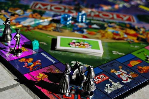 Disney Monopoly@ Tiffany,  this I WOULD play!!!