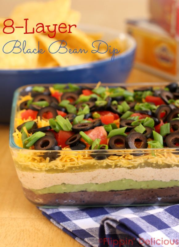 8-layer black bean dip and gluten-free game night menu made easy with McCormick Gluten-Free Recipe Mixes. (scheduled via http://www.tailwindapp.com?utm_source=pinterest&utm_medium=twpin&utm_content=post411437&utm_campaign=scheduler_attribution)