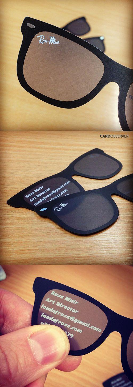 sunglasses business card design