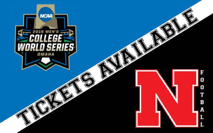 Sweeter than a box of chocolates...2016 CWS & Nebraska Football tickets are available NOW! Order by Monday (2/15) and receive a $25 Gift Card for every $100 you spend! Not on our mailing list? That's okay…we'll bring our Constant Contact to YOU!