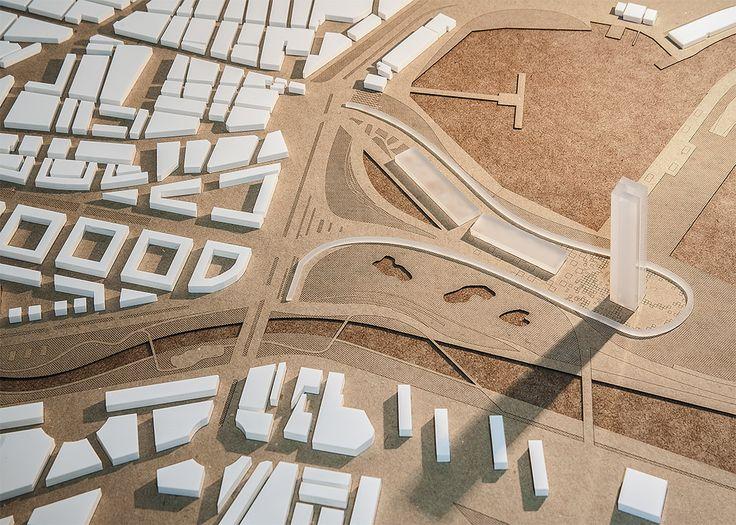 Maquetas de arquitectura en Valencia. Realización de maquetas arquitectónicas para concursos, proyectos final de carrera y estudios de arquitectura.