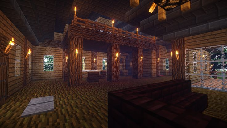 Minecraft Shaders - Minecraft House