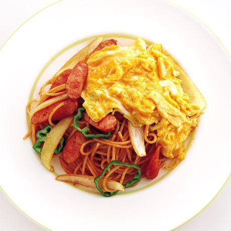 オムナポリタン   鈴木薫さんのパスタの料理レシピ   プロの簡単料理レシピはレタスクラブニュース