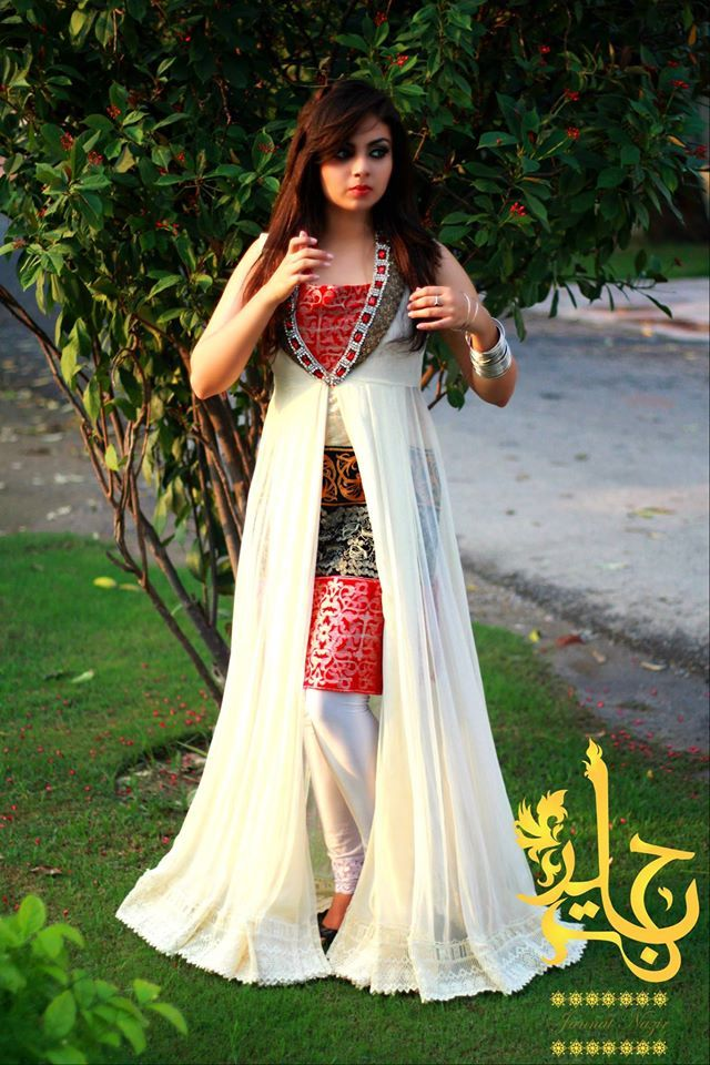 Latest Best Party Wear Frocks & Gowns for Women 2014-2015 | Fancy Embroidered Collection | StylesGap.com