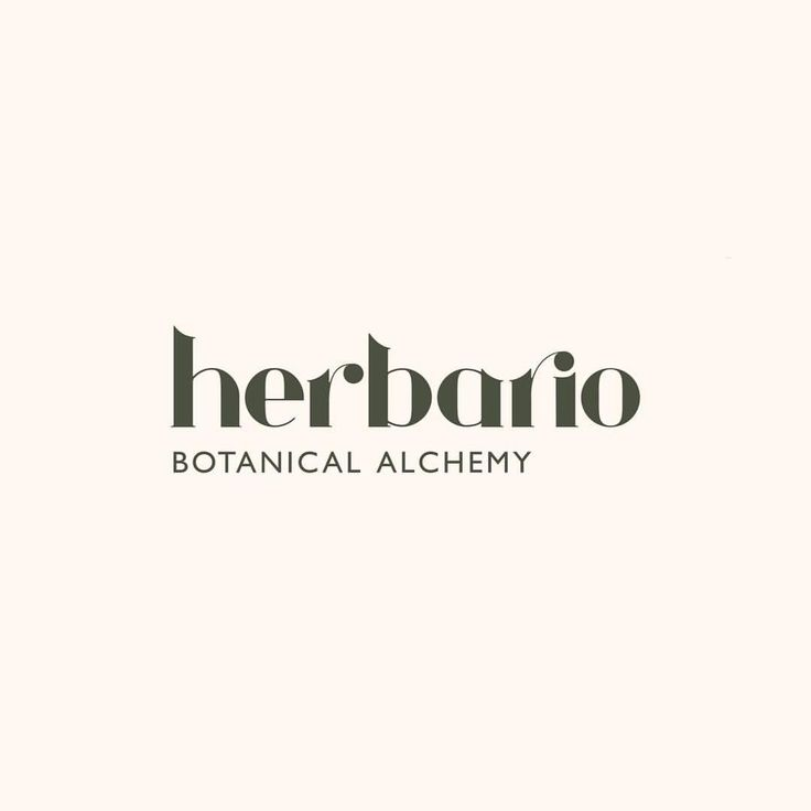 """43 Likes, 4 Comments - Curated Visual Poetry (@siystudio) on Instagram: """"Botanical Alchemy. Reflecting its European heritage, we created this typographic identity with a…"""""""