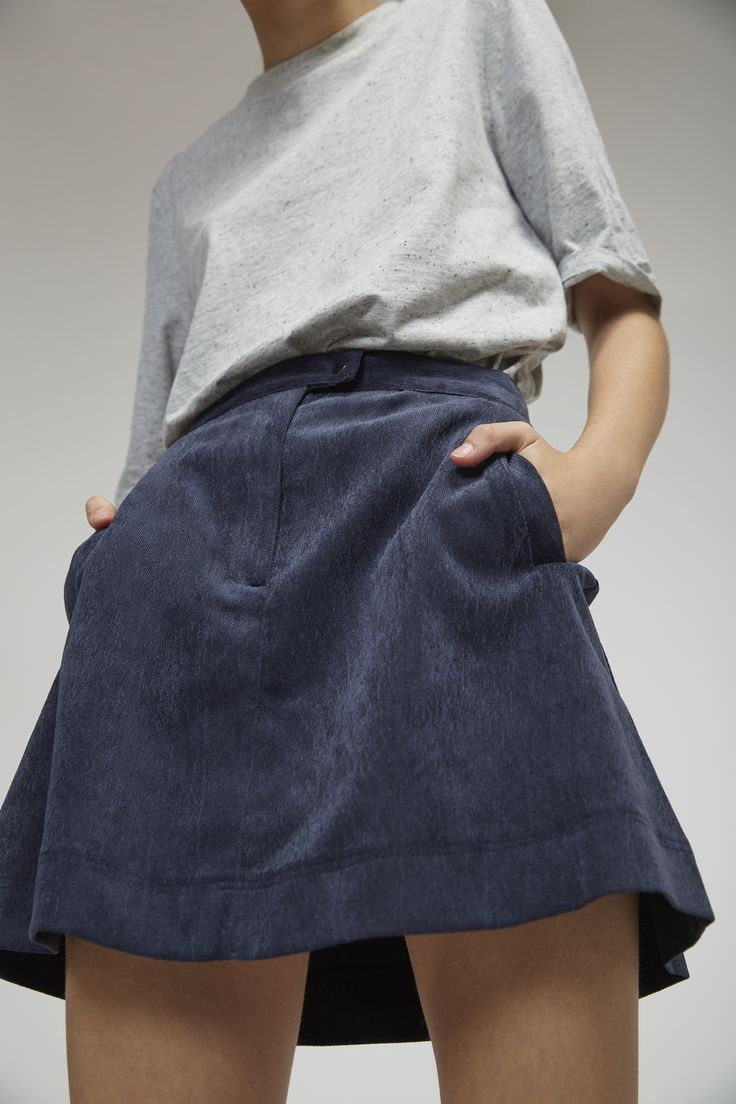The Fifth- The Insider Skirt, navy