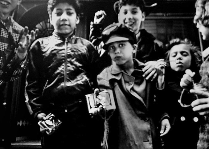 "Baseball Cards, New York, 1955  WILLIAM KLEIN: ""The New York School: Photographs, 1936-1963″ (1992)"