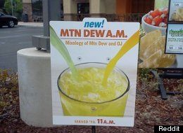 Mtn Dew A.M: Taco Bell Adds Mountain Dew Mixed With Orange Juice To Breakfast Menu