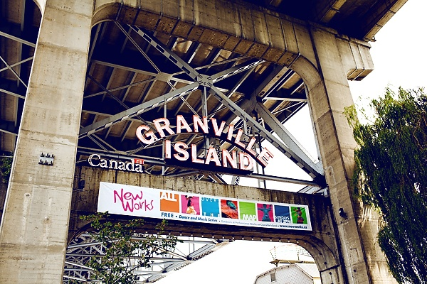 Granville Island down in Vancouver has this kitchy artsy vibe to it.