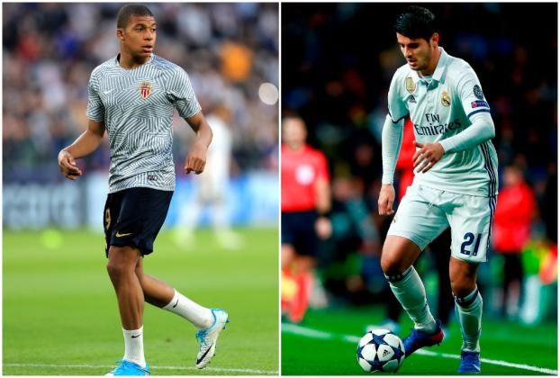 #rumors  Transfer news: Real Madrid plot world record deal for Kylian Mbappe as Alvaro Morata targeted by Chelsea