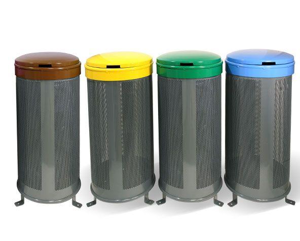 GroundLevel Afvalbak | Benito Urban - #afvalbak #litterbin #straatmeubilair #streetfurniture