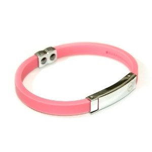 Pink Titanium Sport Stainless Steel Unisex Silicon Bracelet Tourmaline with Fully Adjustable Custom Fit Silicone Band / Baseball Softball Sports Bracelet Promotes Energy Emits Negative Ion and Anion Charge Stainless Steel Panel Comfortable Fit (Misc.)  http://www.picter.org/?p=B0057KRSCQ