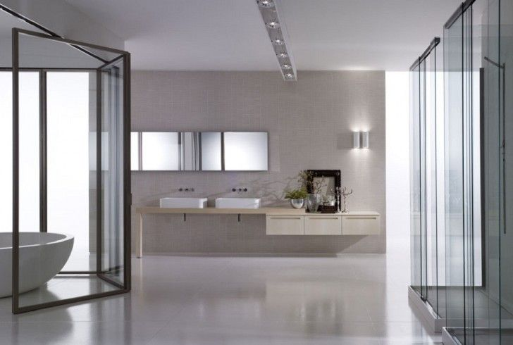 Bathroom:Bathroom Design: Master Bathroom Tips Decorations Stunning Simple Master Bathroom Design White Bathtub Ceramic Floor With Glass Sho...