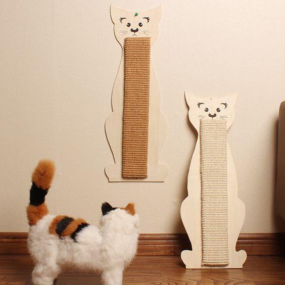 Decoración para casas con gatos.