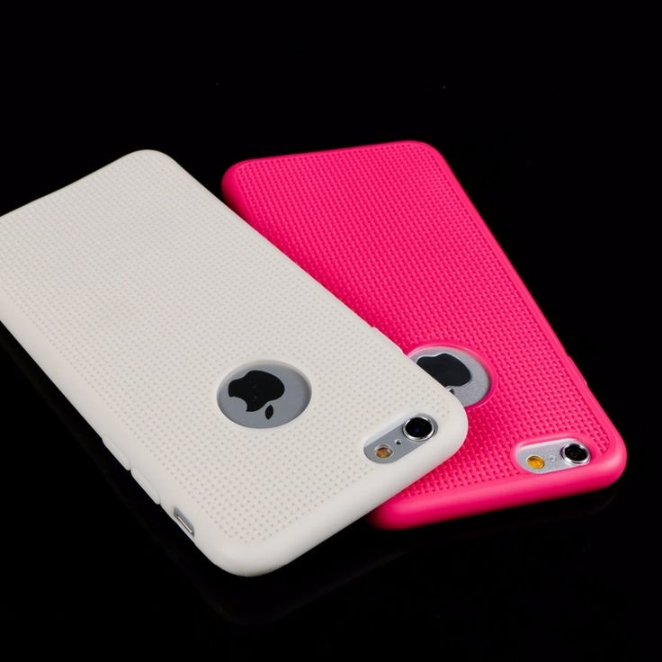 Recommend Newest Soft Silicone Reticular formation With Friction Colorful Phone Cases for iphone 6 6s 6plus 6splus 4.7 5.5inch