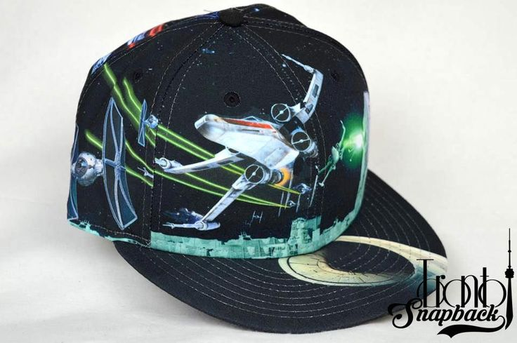 STAR WARS 'ALL-OVER BATTLE' NEW ERA FITTED HAT / Toronto Snapback