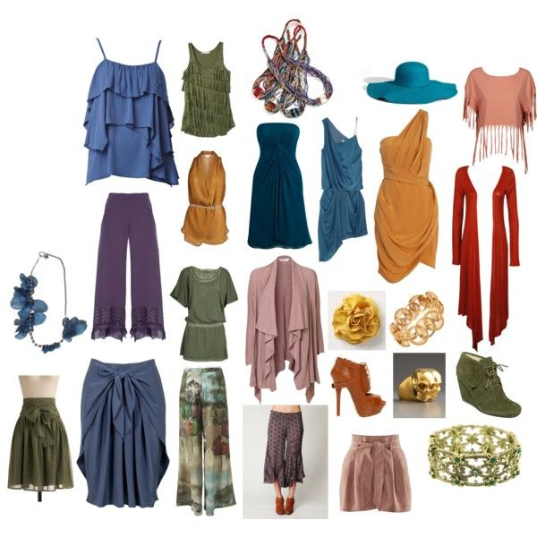 Soft Autumn Romantic Style, created by jenr8 on Polyvore