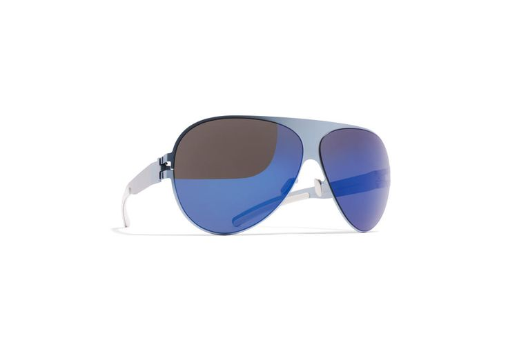 mykita + bernhard willhelm franz frame in pigeon blue