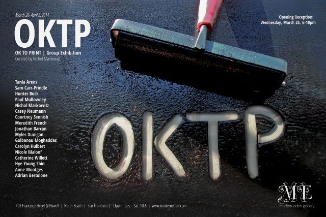 """""""Traditions & Taboos"""" and """"OKTP"""" open at Modern Eden Gallery for 2014 Southern Graphics Council International Conference"""