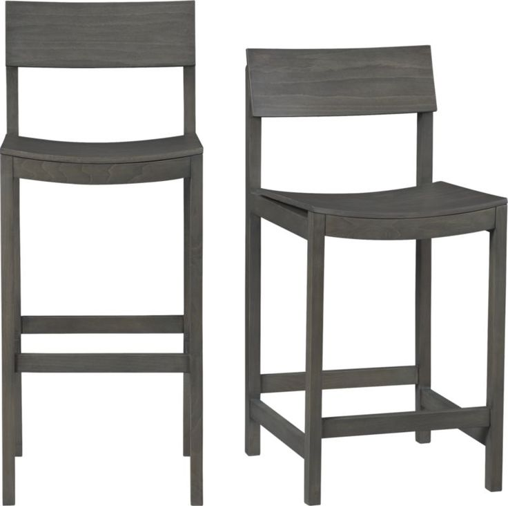 slide grey counter stool in dining chairs bar stools