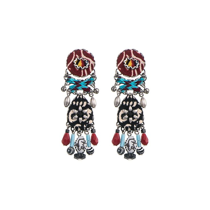 Maya Mist Earrings Ayala Bar Summer 2016 Hip Collection