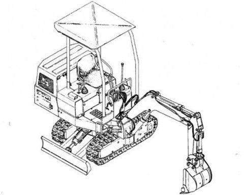 Takeuchi TB35S Compact Excavator (Engine) Parts Manual