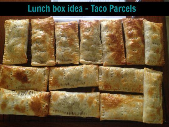 left over taco parcels