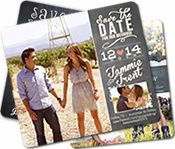 Rustic Wedding Save The Date Ordering Info - Rustic Wedding Guide