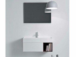 Mueble bajo lavabo lacado suspendido con cajones QUATTRO.ZERO | Mueble bajo lavabo suspendido - FALPER