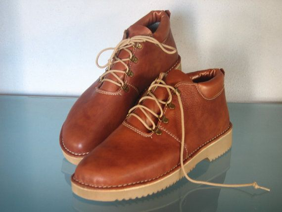 Handmade Leather Lightweight Hiking Boots for Women by EinatsShoes, $235.00