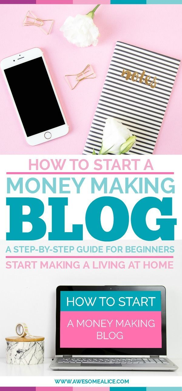 A step-by-step guide for beginners to setup your blog. Take the first step to making money from home with your money making blog!