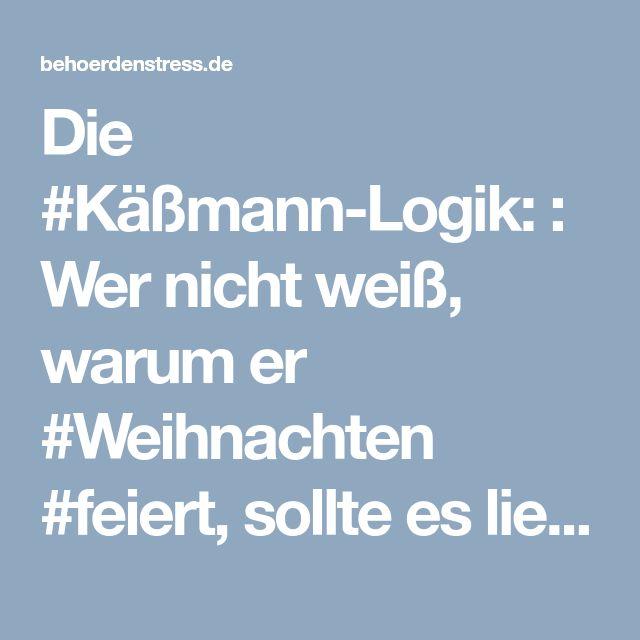 Die #Käßmann-Logik: : Wer nicht weiß, warum er #Weihnachten #feiert, sollte es lieber lassen! › Behoerdenstress