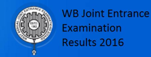 West Bengal JEE Result 2016-WB Joint Entrance Examination Results @ wjeeb.nic.in